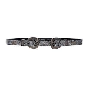 Metallic Winslow hip belt - double buckle